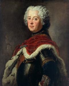 Frederico II da Prússia, por Antoine Pesne (1739).