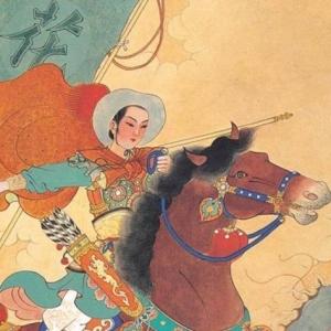 Hua Mulan em batalha.