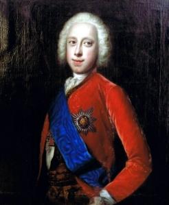 Czarevich Carlos Pedro Ulrich, por artista desconhecido (1745).