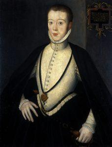 Lorde Darnley, por artista desconhecido (c. 1564).