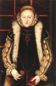 Retrato de Elizabeth I, pintado no início da década de 1560.