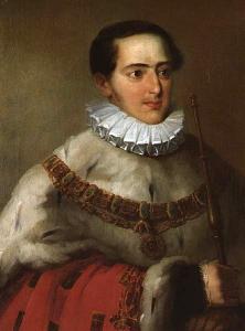 Miguel I de Portugal. por João Baptista Ribeiro
