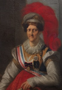 Dona Carlota Joaquina, por João Baptista Ribeiro.