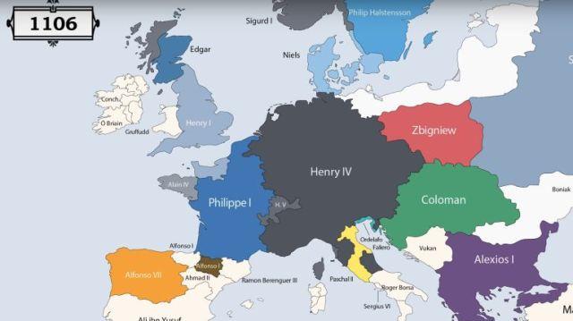 Fascinante: Animação apresenta os governantes de cada região da ...