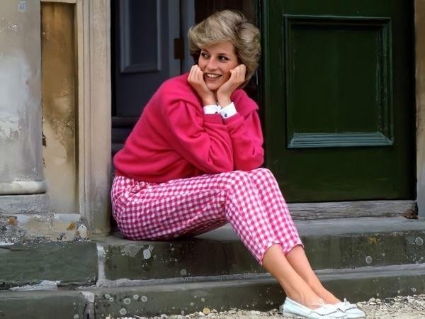 Diana, em 1984.