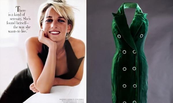 Um dos últimos ensaios fotográficos da princesa Diana, para as lentes de Mario Testino.